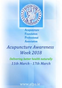 Acupuncture Awareness Week 2018 Part 2